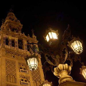 Barrio Santa Cruz, Giralda y Alcázar en Sevilla