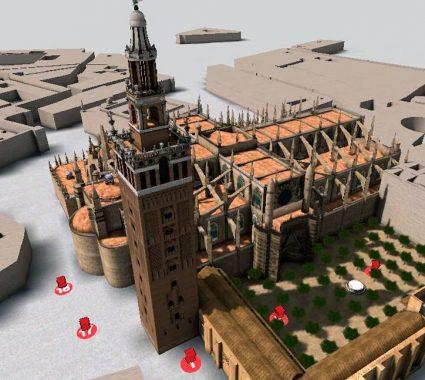 Catedral de Sevilla en 3D
