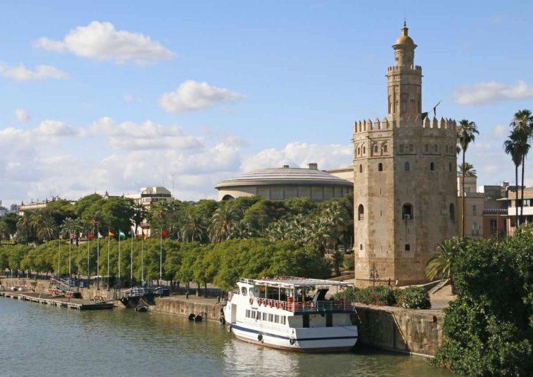 Paseo en barco por el Guadalquivir, el río de Sevilla
