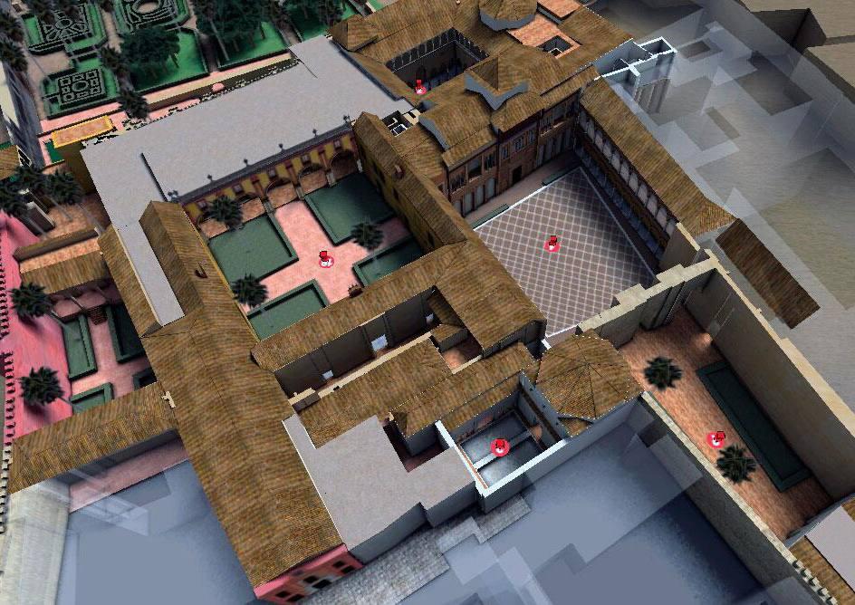 Visita Alcázar en 3D